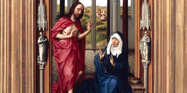 JEZUS SPOTYKA MARYJĘ