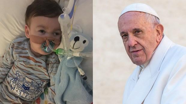 POPE FRANCIS - ALFIE EVANS
