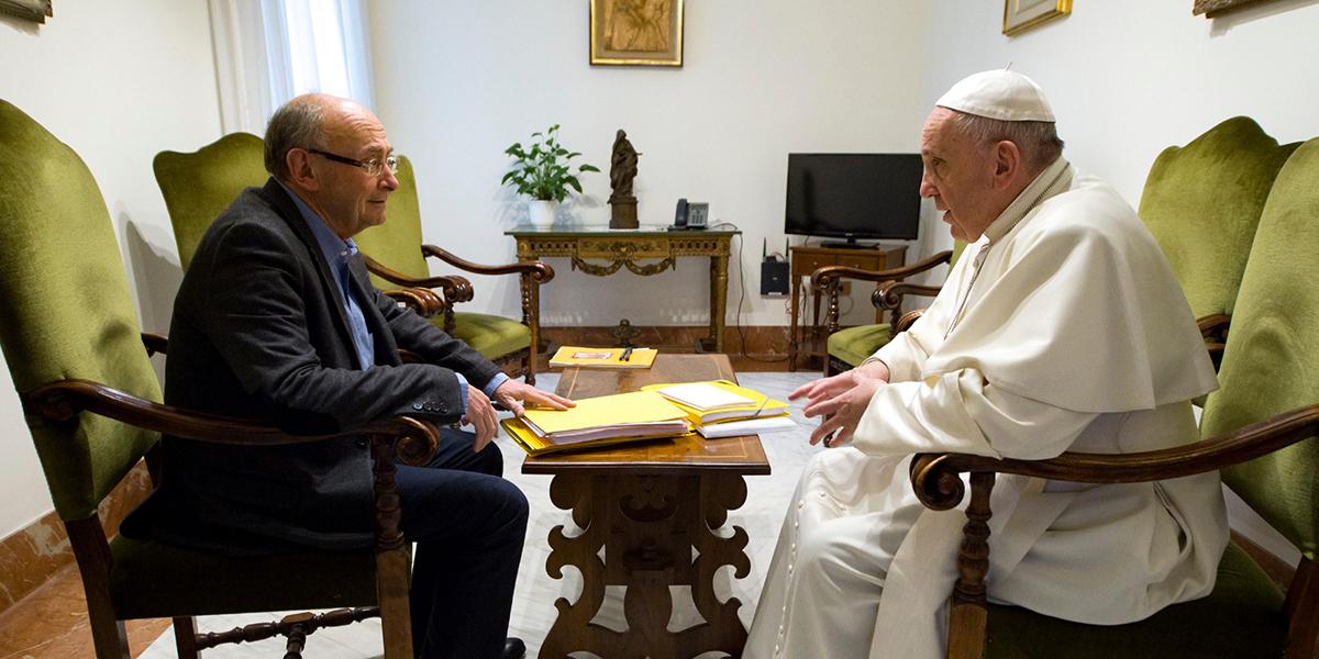 POPE FRANCIS DOMINIQUE WOLTON