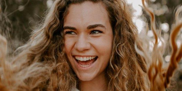 GIRL, LAUGHING, JOY
