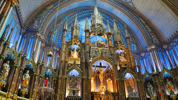 NOTRE DAME, MONTREAL, CHURCH