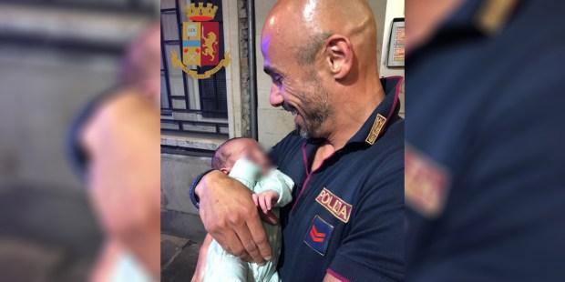 ITALIAN POLICE NEWBORN