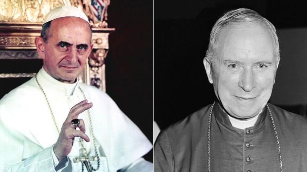 POPE PAUL VI AND REVEREND MARCEL-FRANÇOIS LEFEBVRE