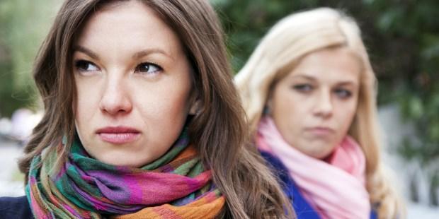 UPSET WOMEN