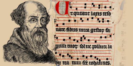 Guido d'Arezzo notas musicais