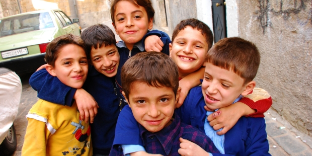 ALEPPO, KIDS, SMILE