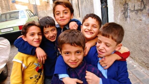 ALEPPO, KIDS, SMILE