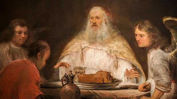 ABRAHAM AND THE ANGELS