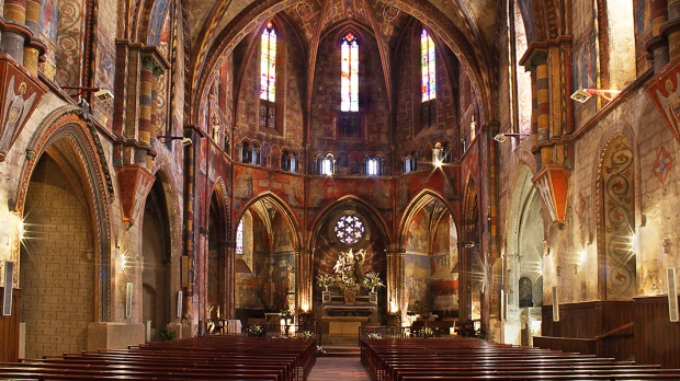 CHURCH NOTRE-DAME DU BOURG