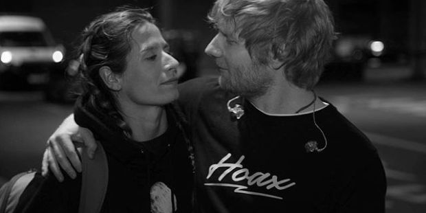 ED SHEERAN AND CHERRY SEABOR