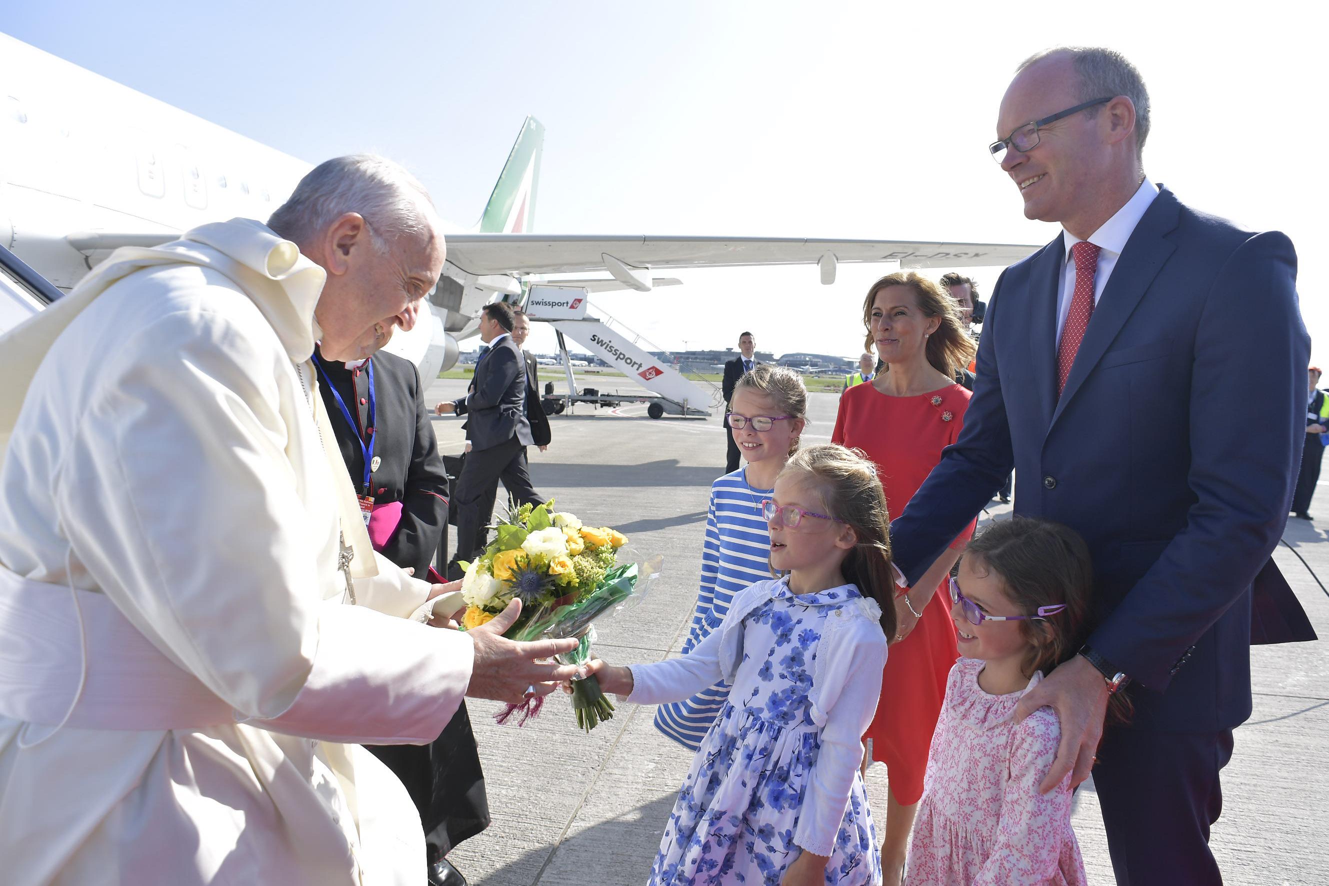 POPE FRANCIS,DUBLIN,AIRPORT,MMWMOF