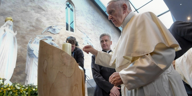 POPE FRANCIS;KNOCK SHRINE;MMWMOF