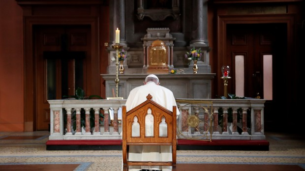 POPE FRANCIS,ST MARY'S PRO-CATHEDRAL,MMWMOF