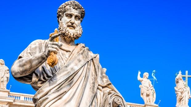 ST. PETER'S BASILICA, KEYS