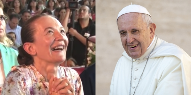 POPE Vicka Ivankovic