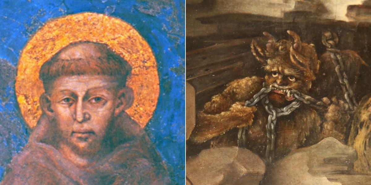 SAINT FRANCIS DEVIL