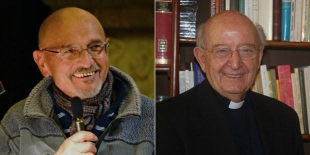 FATHER SILVANO FAUSTI AND FATHER UGO VANNI SJ