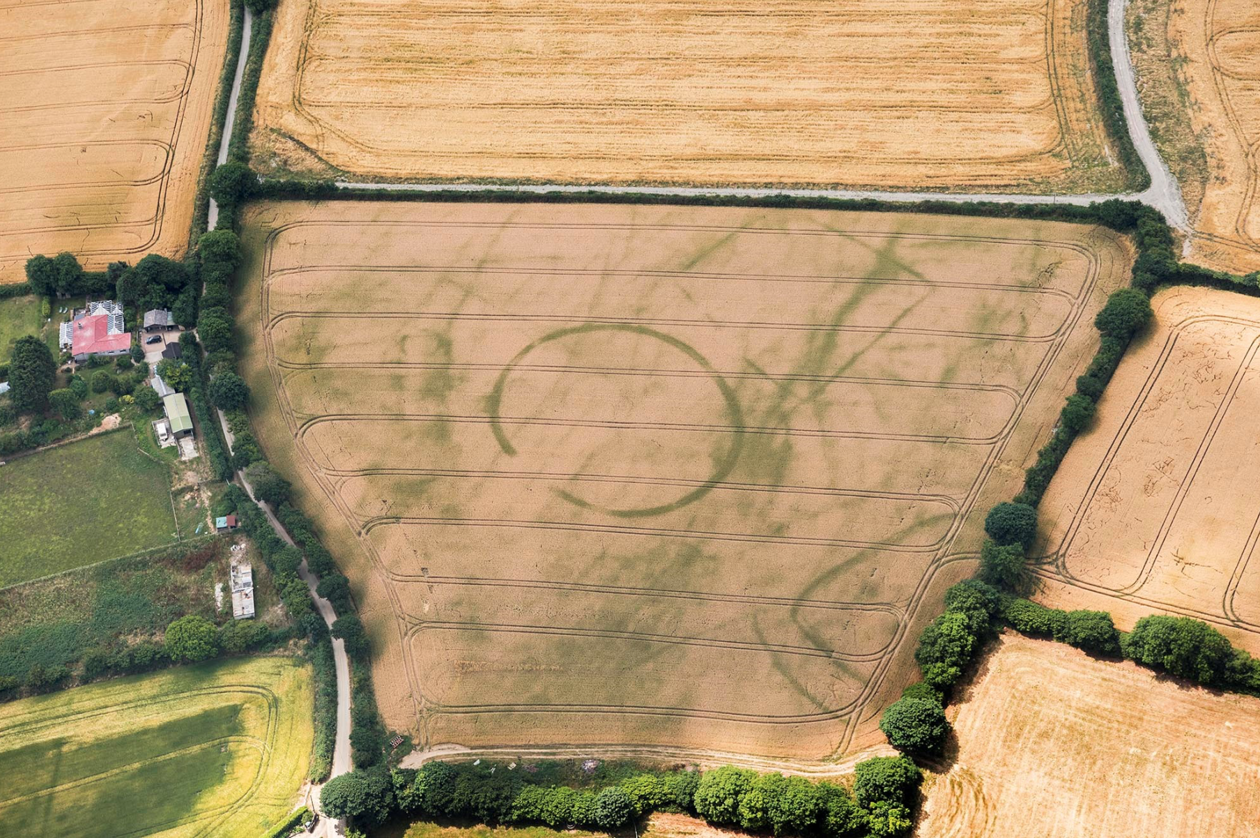 ST IVE; CROP MARKS; AERIAL ARCHAEOLOGY