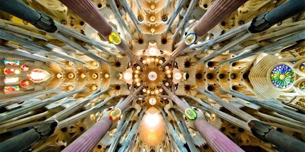 (FOTOGALLERY) Immagini della Sagrada Familia di Barcellona