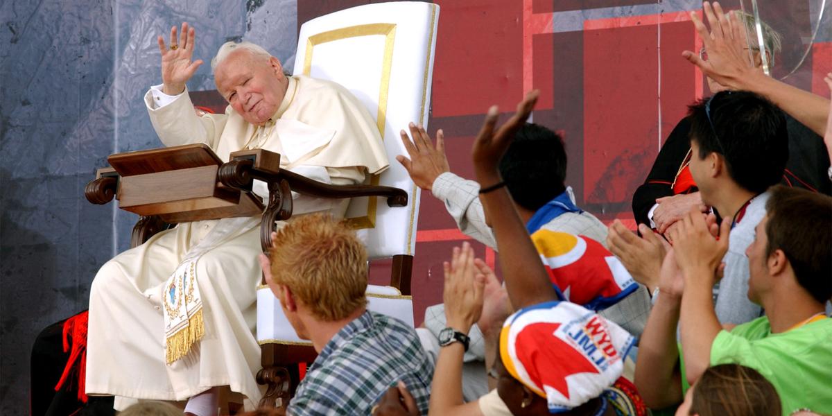 SAINT,POPE,JOHN PAUL II