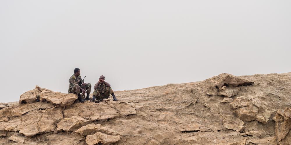 SOLDIERS ETHIOPIA