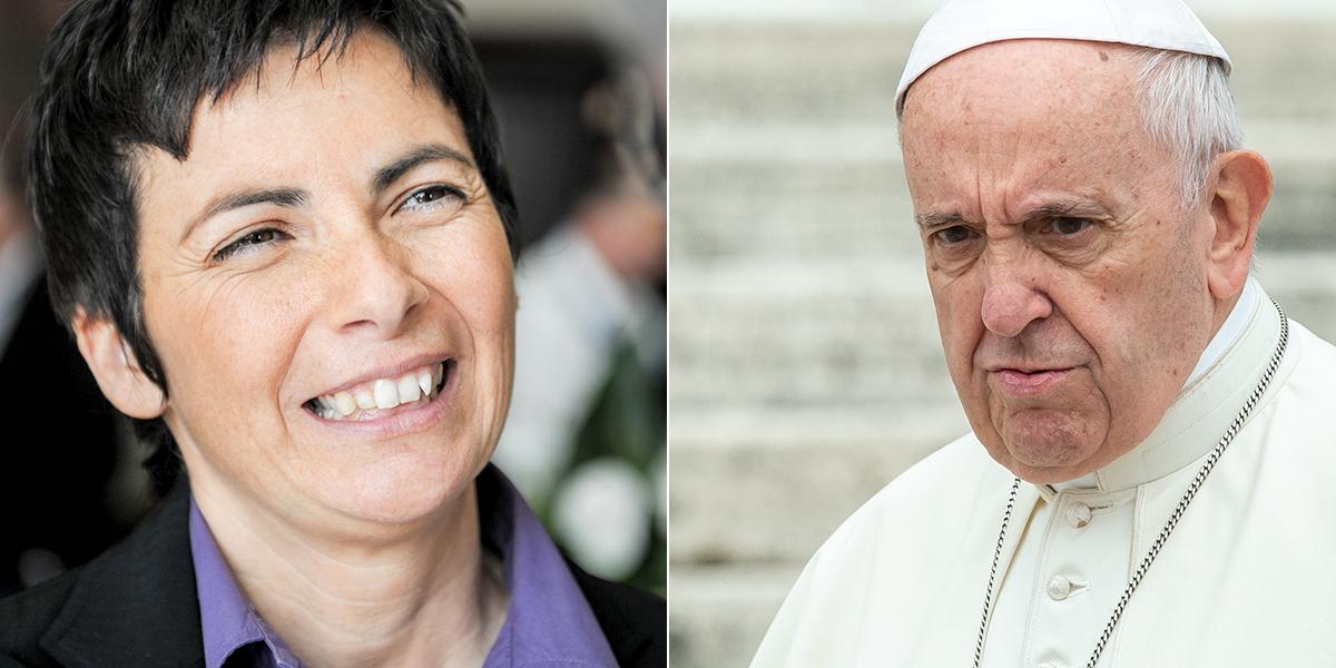 POPE FRANCIS CHIARA AMIRANTE