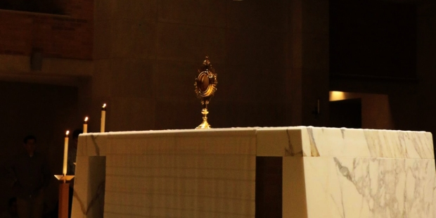 ST BENEDICTS ABBEY,ADORATION