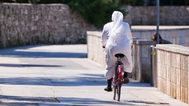 NUN BICYCLE