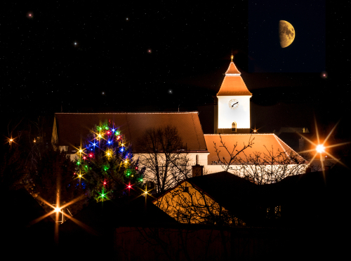 CHIESA, NATALE, LUCI