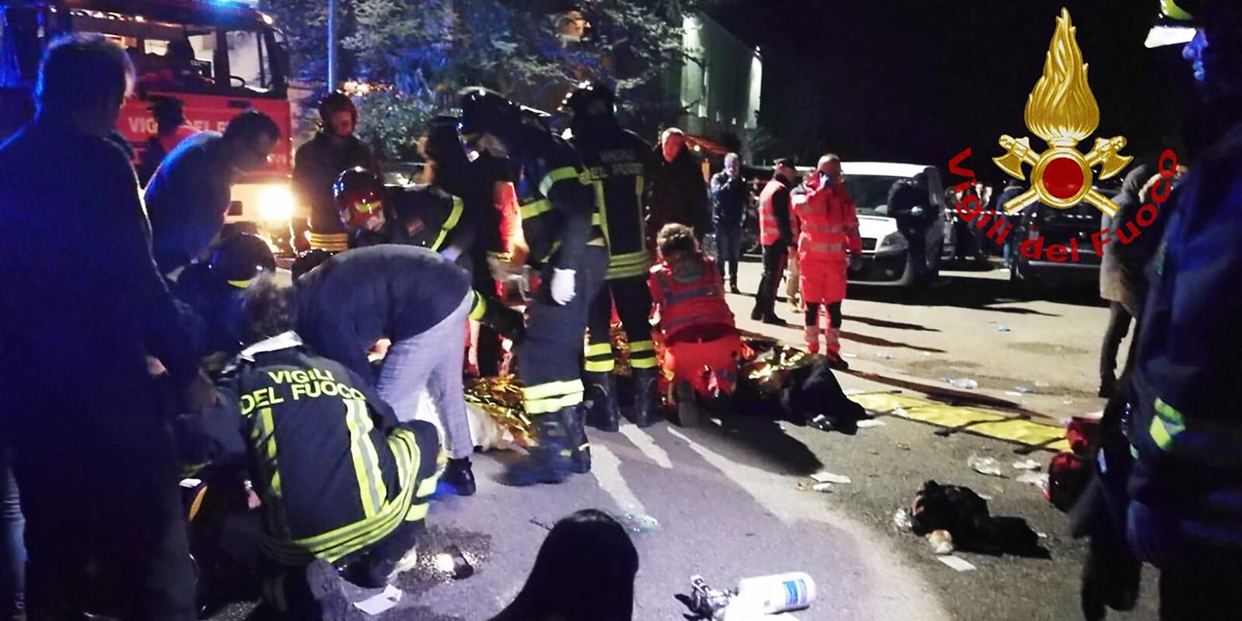 CORINALDO ACCIDENT