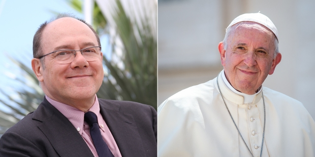POPE FRANCIS CARLO VERDONE