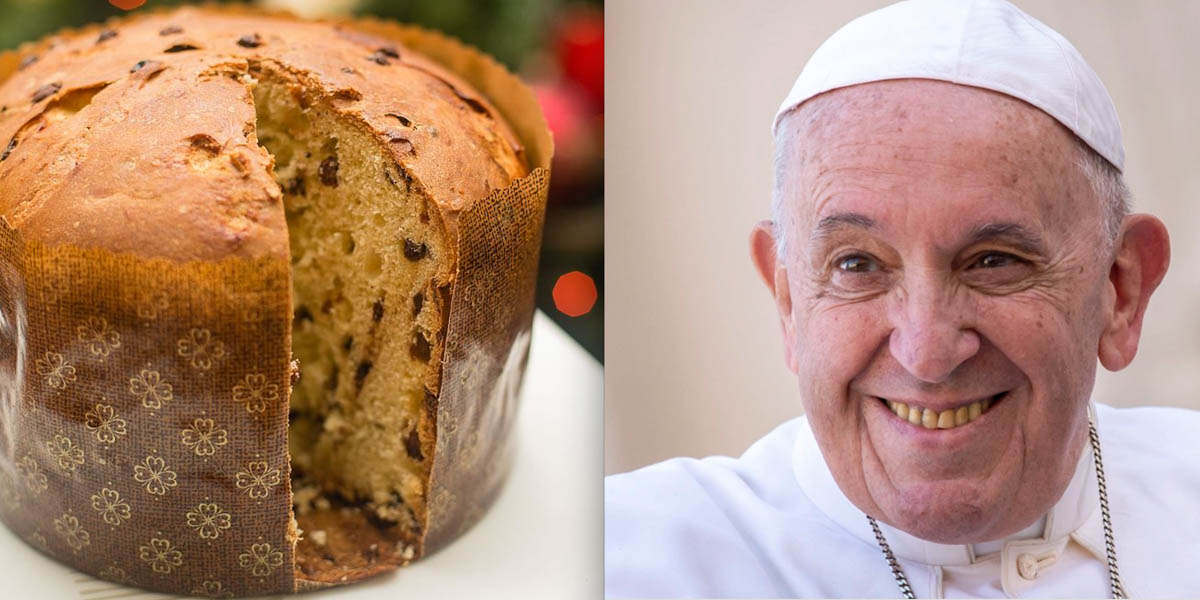 PANETTONE, POPE FRANCIS