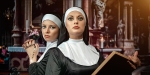TWO ATTRACTIVE YOUNG NUNS