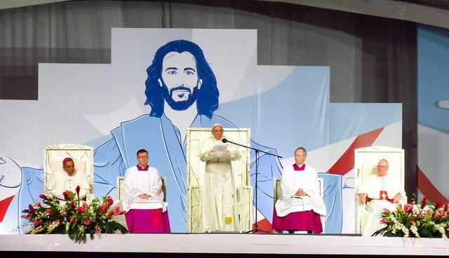 PAPA FRANCESCO PANAMA GMG