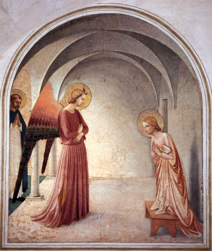 FRA ANGELICO; ANNUNCIATION; SAN MARCO