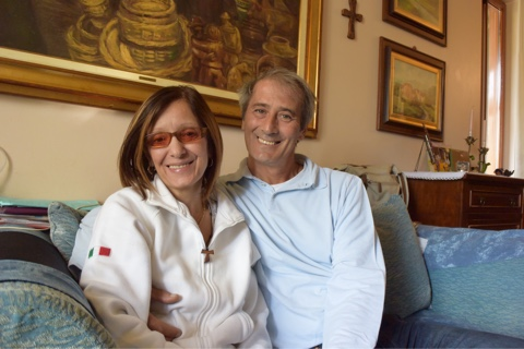 Emanuela Crestani e Paolo Garattini