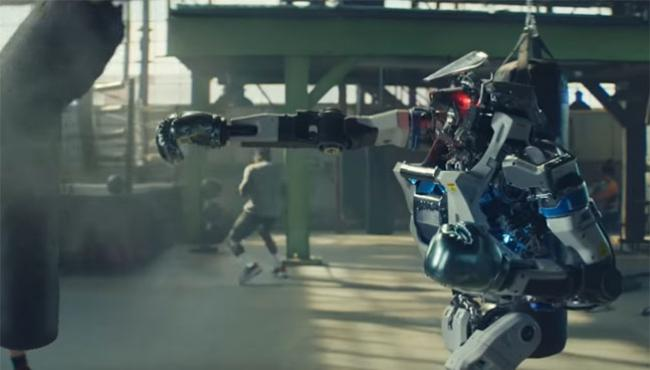 ROBOTS SUPERBOWL PUBBLICITA'