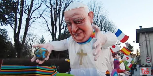 POPE FRANCIS CARNIVAL