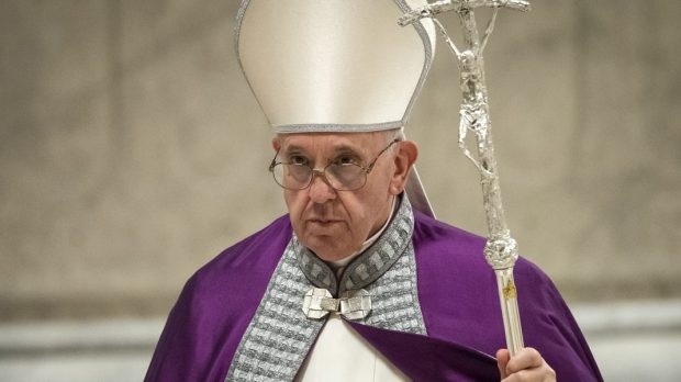 POPE LENT PENANCE
