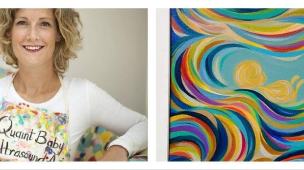 LAURA STEERMAN, ART, ULTRASOUND