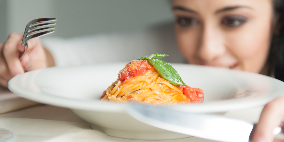 SPAGHETTI, FOOD, WOMAN