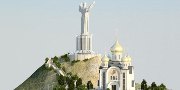 RUSSIA STATUE