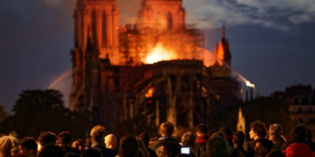 NOTRE DAME, FIRE, PEOPLE