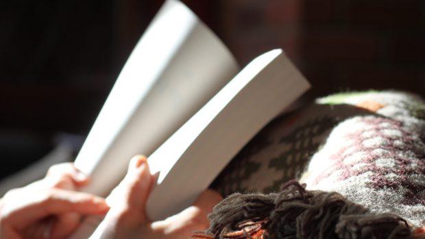 HANDS, BOOK, LIGHT