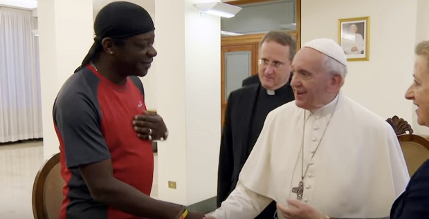 pope francis, stephen amos,