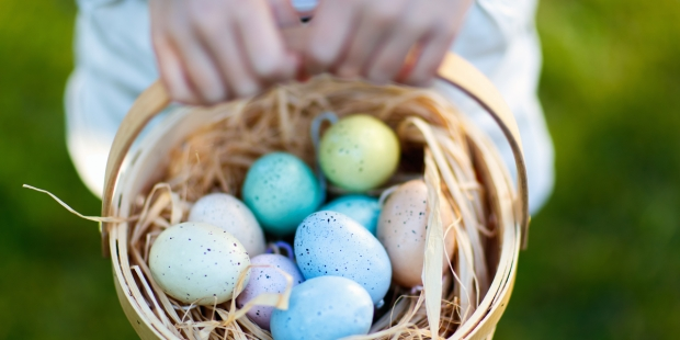 EASTER, EGGS, NEST