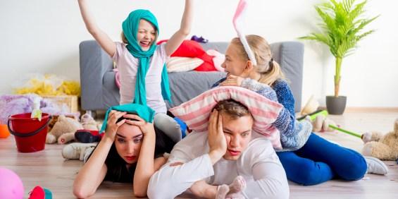 PARENTS; MESS: KIDS