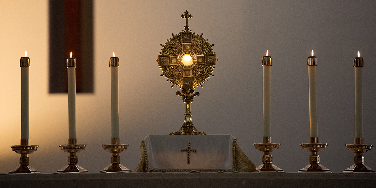 EUCHARIST,BLESSED SACRAMENT