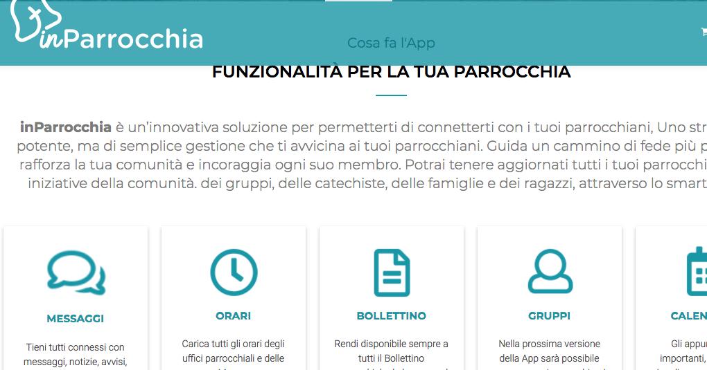 app inParrocchia