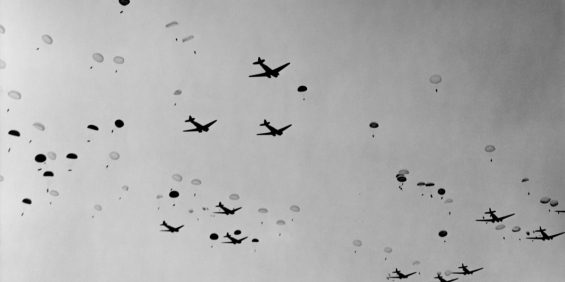 C-47s OVER SOUTHERN FRANCE